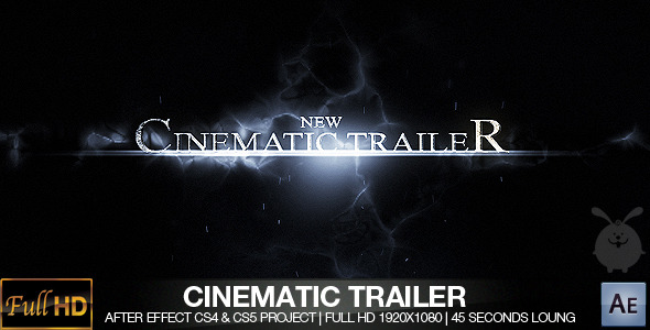 After Effects Project - VideoHive Cinematic Trailer CS4 & CS5 272349