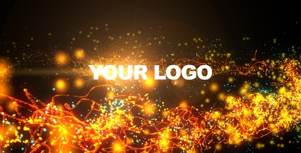 After Effects Project - VideoHive Logo Strings & Particles Animation 89002