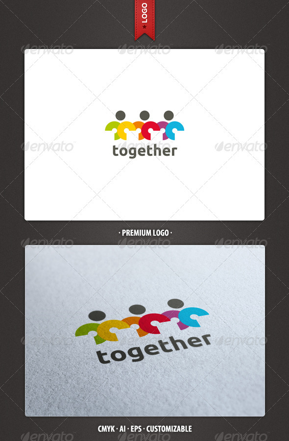GraphicRiver Together Logo Template 2422349