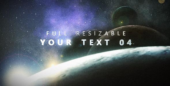 VideoHive Planetarium Titles 2423923
