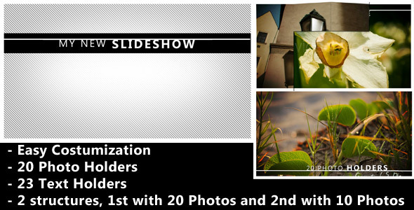 VideoHive Flipping Square Revealer Photo And Video Slideshow 2400871