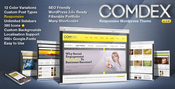 COMDEX — Clean and Modern Website Template - 9