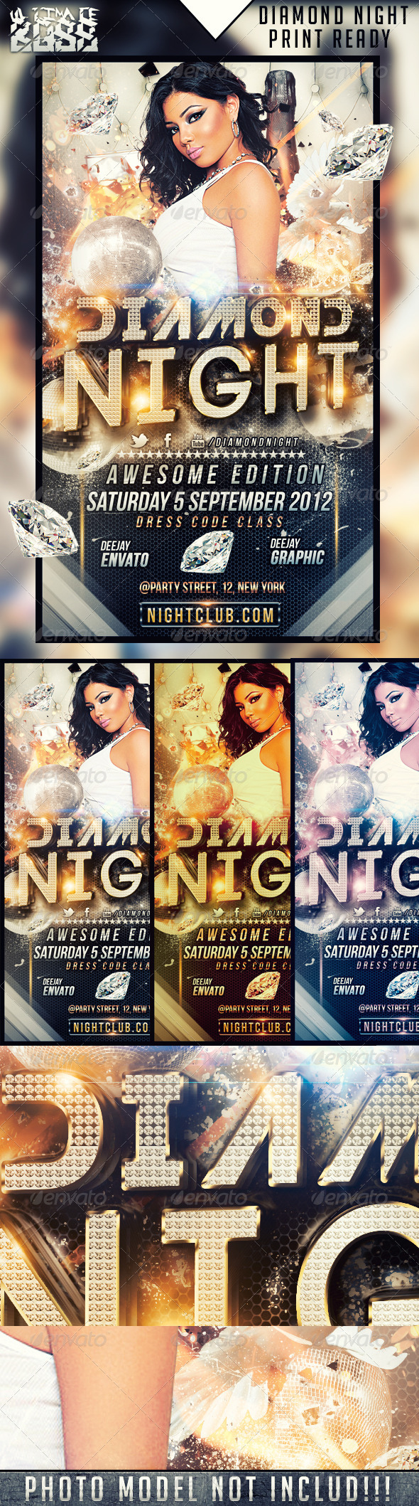 GraphicRiver Diamond Night 2425468