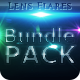 18 Unique Lens Flares - Light Effects Bundle 4-6 - GraphicRiver Item for Sale