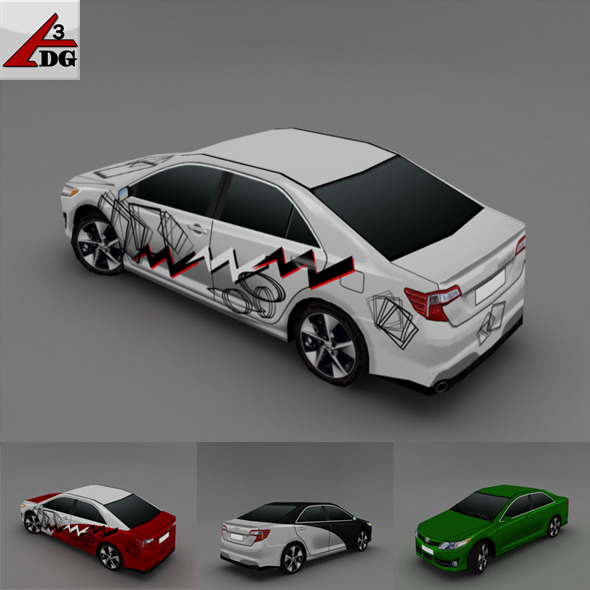 3DOcean Toyota Camry 2010 2227605
