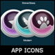 3D Glossy App Icons Creator - GraphicRiver Item for Sale