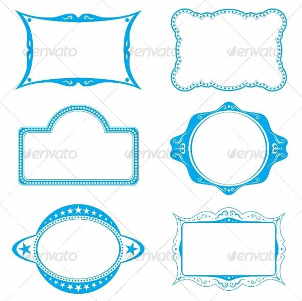 Graphic River Frame set Vectors -  Decorative  Decorative Symbols 89164
