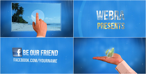 After Effects Project - VideoHive Oxygen Touch Style Slideshow 2430687