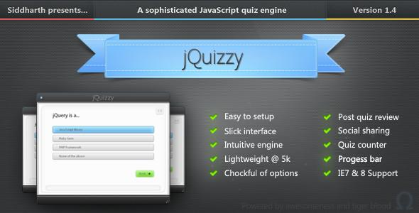 CodeCanyon jQuizzy - Premium Quiz Engine -Rip