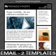 Monochrome Email Template - ThemeForest Item for Sale