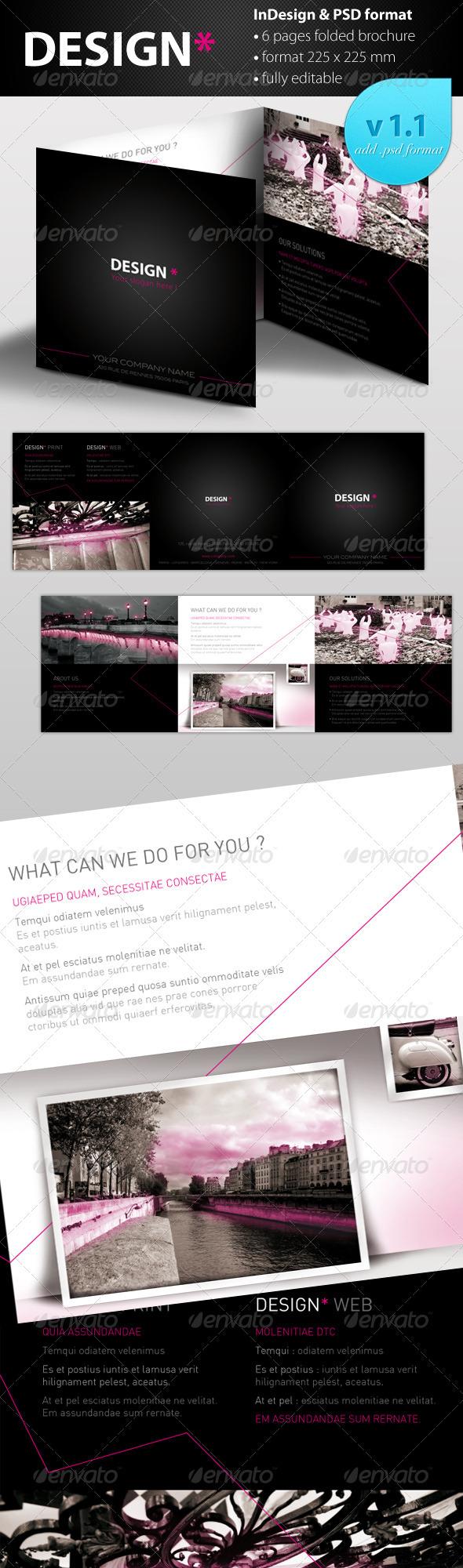 GraphicRiver Brochure Design Professional 931278