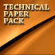 Technical (plastic) papers pack - GraphicRiver Item for Sale