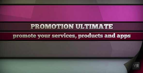 After Effects Project - VideoHive Promotion ultimate 2433398