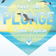 Take the Plunge Church Flyer and CD Template - GraphicRiver Item for Sale