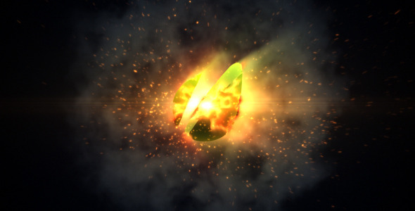 VideoHive Orb Fire Logo Reveal 2444999