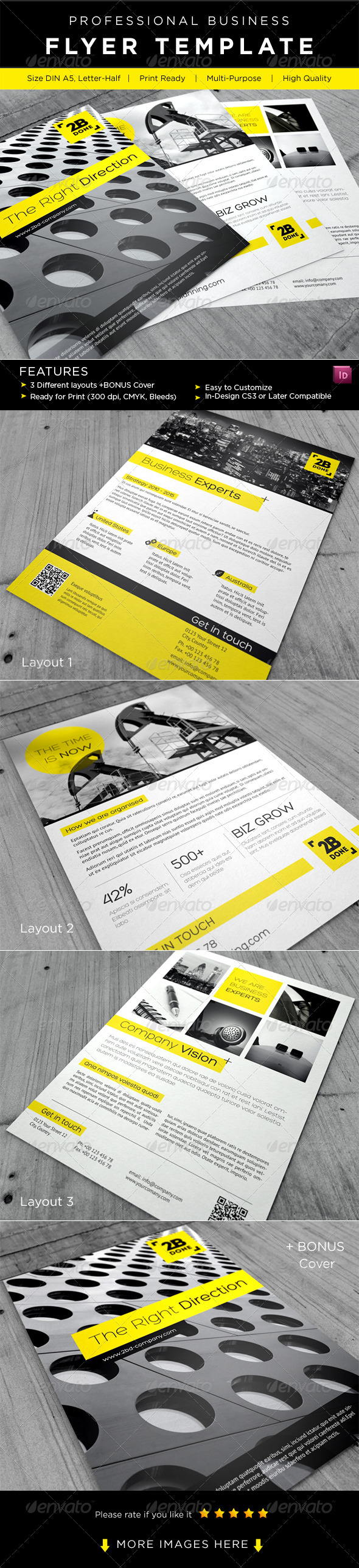 GraphicRiver Business Flyer AD Template 2445547