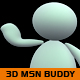 3D MSN buddy (pack) - 3DOcean Item for Sale