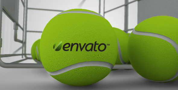VideoHive Tennis Logo Reveal 2445686