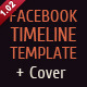 Timeline facebook photo portfolio fan page - ActiveDen Item for Sale