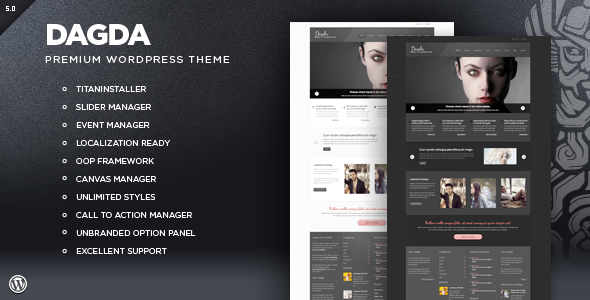 ThemeForest Dagda Premium WordPress Theme 848944