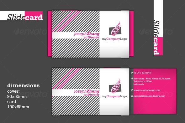 GraphicRiver Slide Card 89896