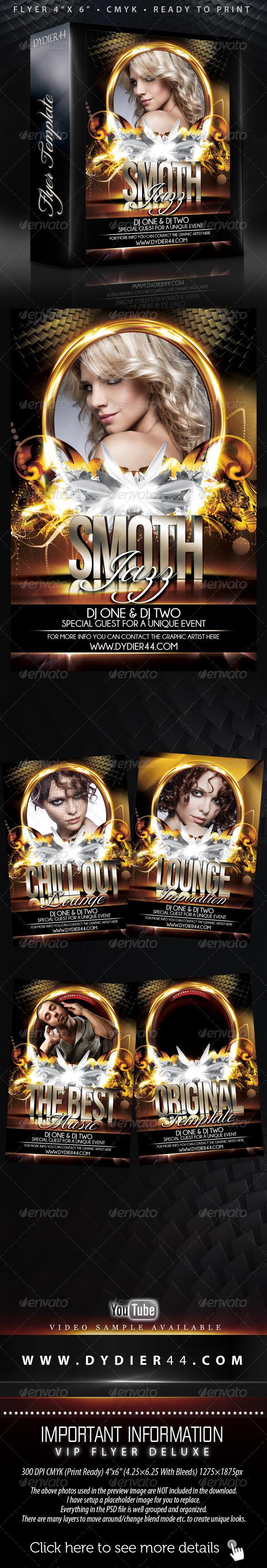 GraphicRiver Night Club II Flyer Template 4x6 398422