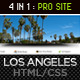 Los Angeles - Premium Portfolio Template  - ThemeForest Item for Sale