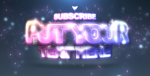 After Effects Project - VideoHive Subscribe 89929