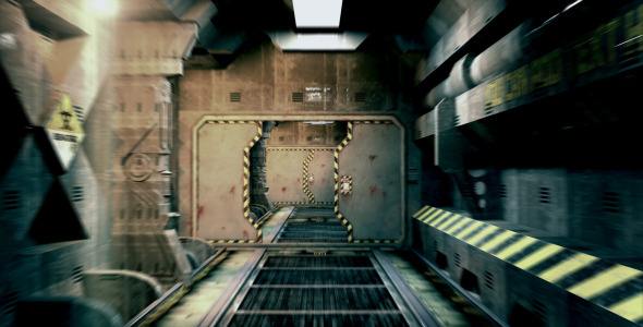 After Effects Project - VideoHive Sci-Fi Tunnel Intro 2458201