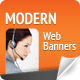 Modern Web Banners - GraphicRiver Item for Sale