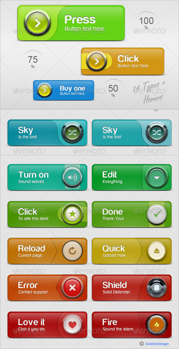 GraphicRiver Ultra Web Buttons 149796