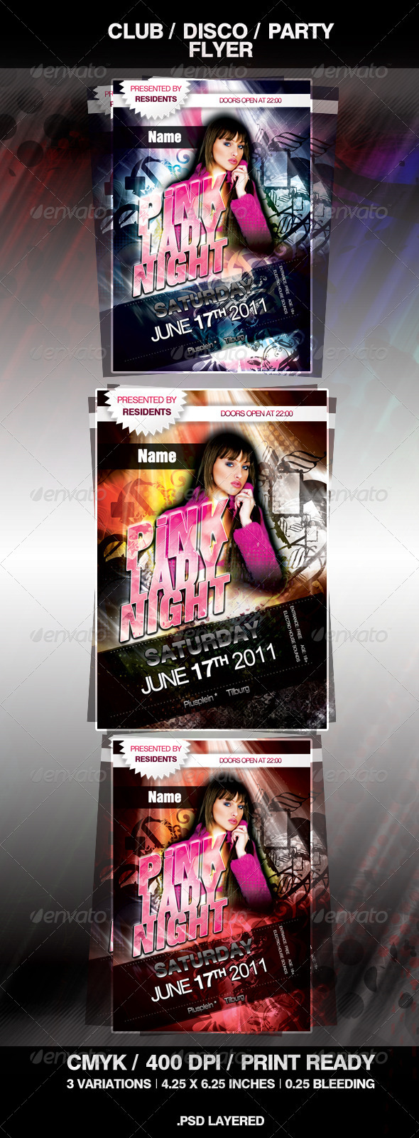 GraphicRiver Disco Club Party Flyer 276452