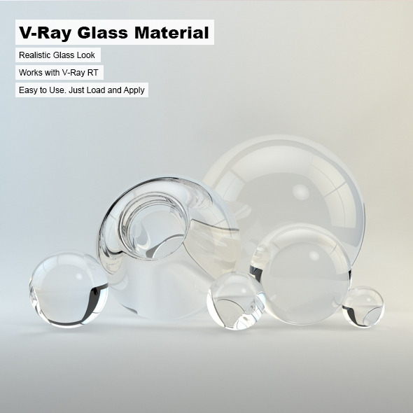 3DOcean V-Ray Glass Material 244286
