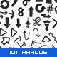 101 Hand Drawn Arrows - GraphicRiver Item for Sale