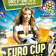 EURO CUP 2012 - Flyer PSD Template - GraphicRiver Item for Sale
