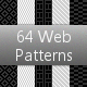 64 Tileable Pixel Web Patterns - GraphicRiver Item for Sale
