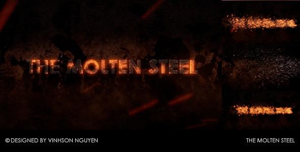 VideoHive The Molten Steel 2473062