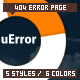uError - Custom Error Page - ThemeForest Item for Sale