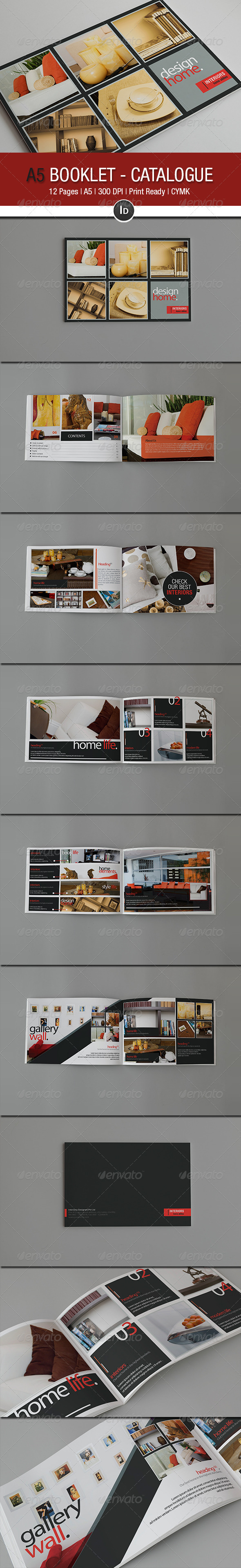 GraphicRiver A5 Booklet Catalogue V 2.0 2475162