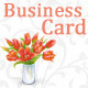 Flowery Shop Business Card - GraphicRiver Item for Sale