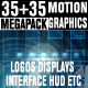 Motion Graphics Displays And Particles Bundle Pack - VideoHive Item for Sale