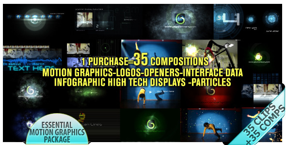 After Effects Project - VideoHive Motion Graphics Displays And Particles Bu ...