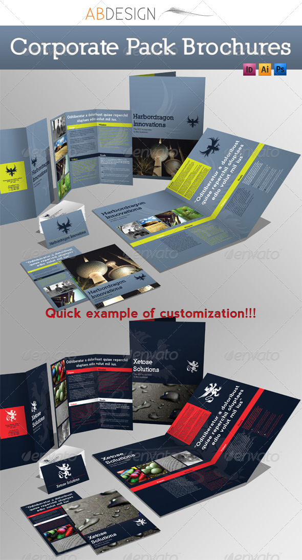 GraphicRiver Corporate Pack Brochures 2446500