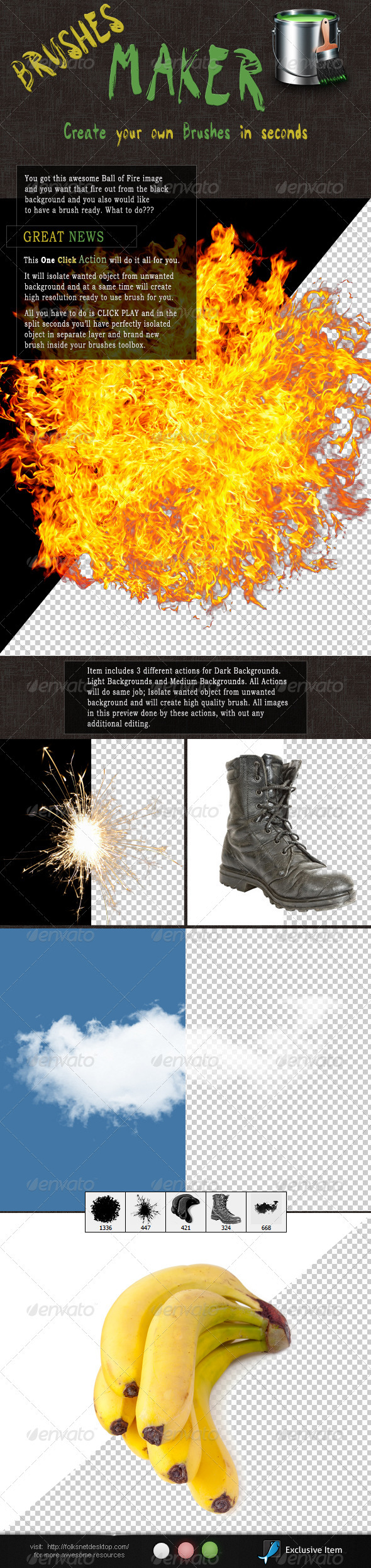 GraphicRiver Brushes Maker 2482471