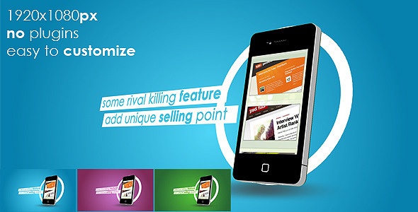 VideoHive Phone App Commercial 2457694