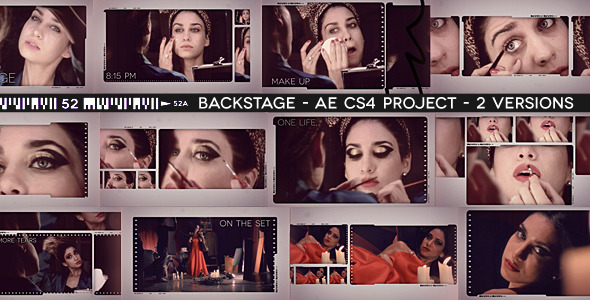 After Effects Project - VideoHive Backstage 2485577