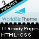 WorldBiz Theme - With Extra Features - ThemeForest Item for Sale