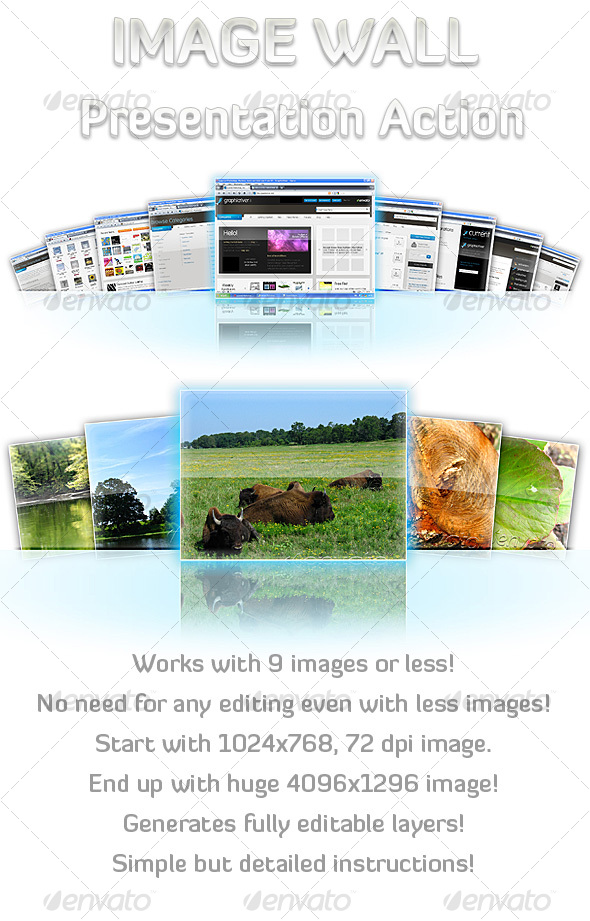 GraphicRiver Image Wall Presentation Action 91003