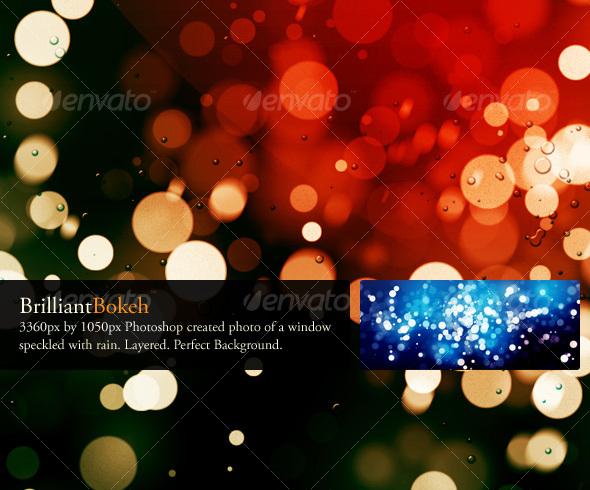 GraphicRiver Brilliant Bokeh Background 89087