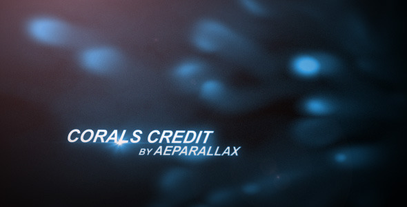 After Effects Project - VideoHive Corals Credit 2490791